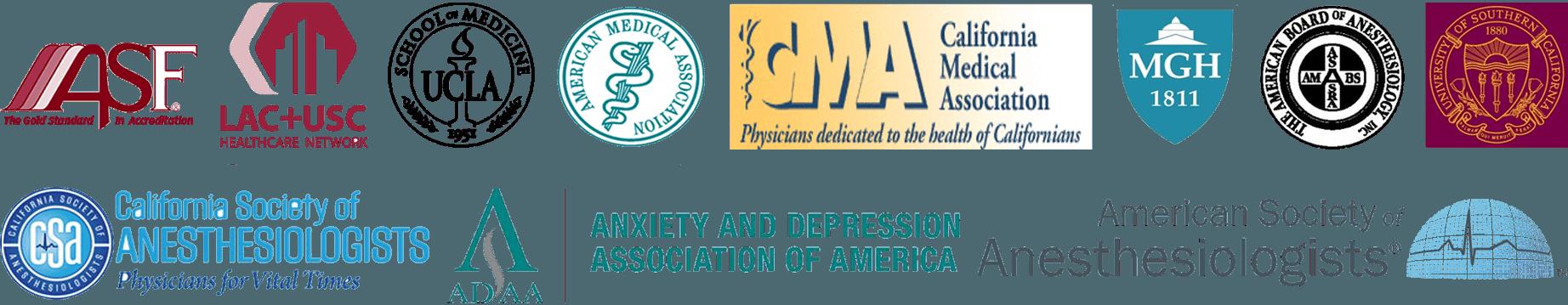 Dr. Steven L. Mandel's Achievements | Ketamine Clinic of Los Angeles