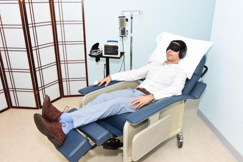 Ketamine infusion centers